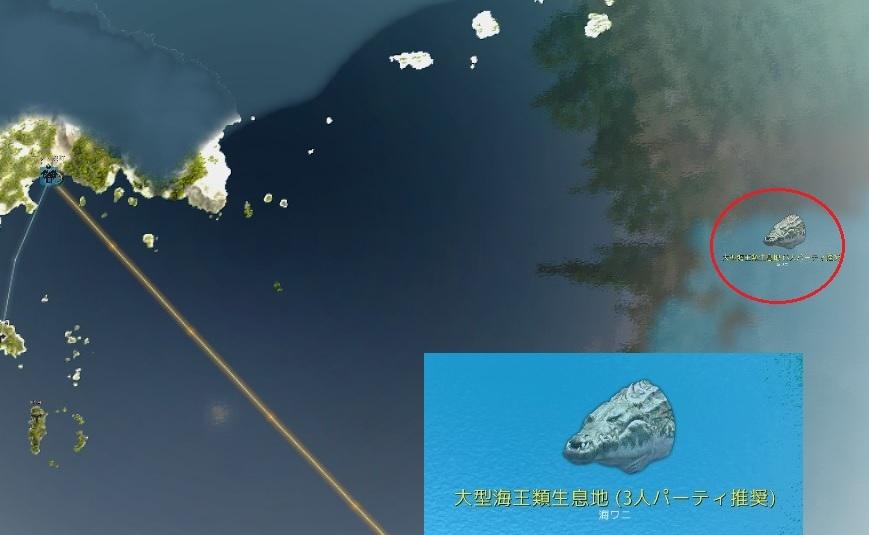 海ワニのソロ討伐行ってきたら楽勝だったけどDROPはゴミだった01