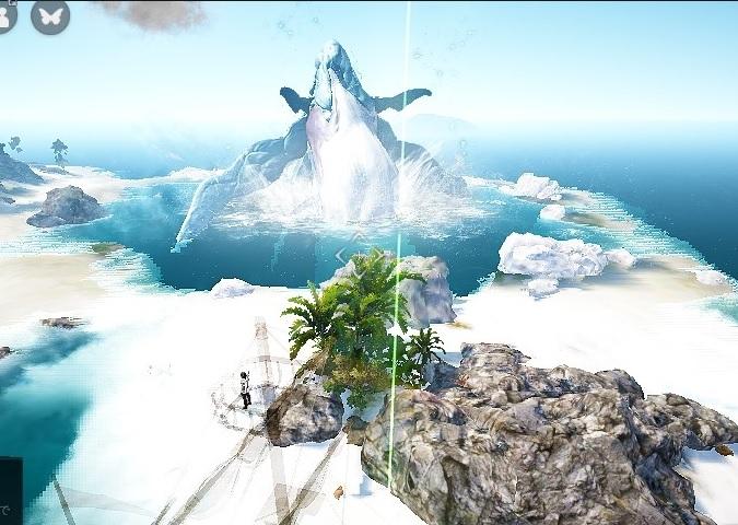 カーンの範囲攻撃を銃帆船の上から俯瞰してみた02
