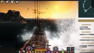 帆船の急旋回がZやCで発動&艦砲射撃のCTが減って連射が楽になりました【黒い砂漠Part3024】
