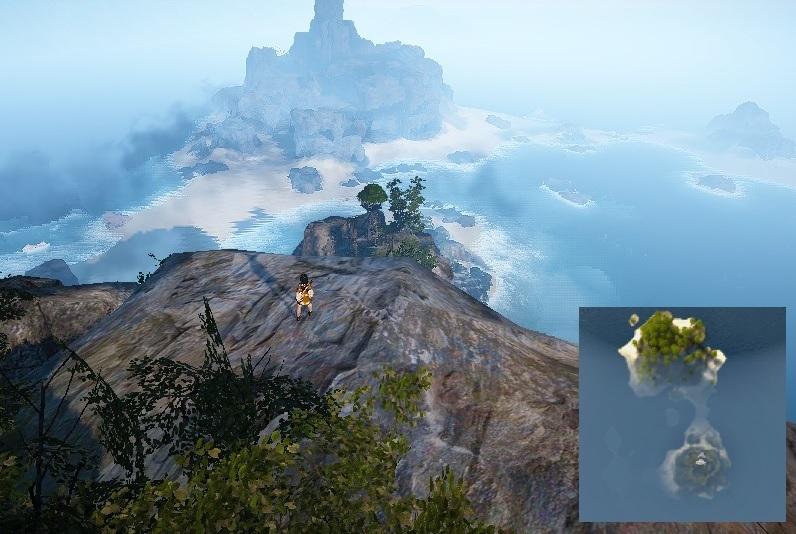 パプーかラッコか!イベントの詳細とグランディーハ島&パプアクリニ島の場所01