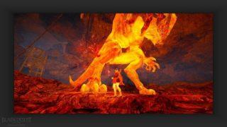 宵闇の武器箱を貰うためにメディアクエストの溶岩洞窟の支配者倒してきた【黒い砂漠Part3049】