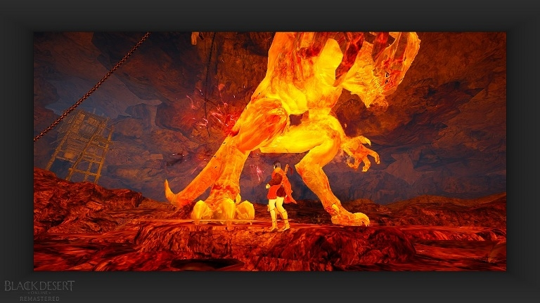 宵闇の武器箱を貰うためにメディアクエストの溶岩洞窟の支配者倒してきた03