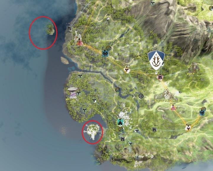 パプーかラッコか!イベントの詳細とグランディーハ島&パプアクリニ島の場所08