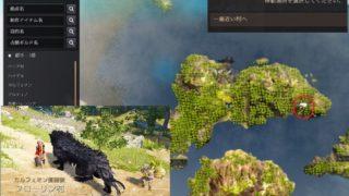 海賊島で地図使って一番近い村にとんだらフローリン村でした【黒い砂漠Part3124】