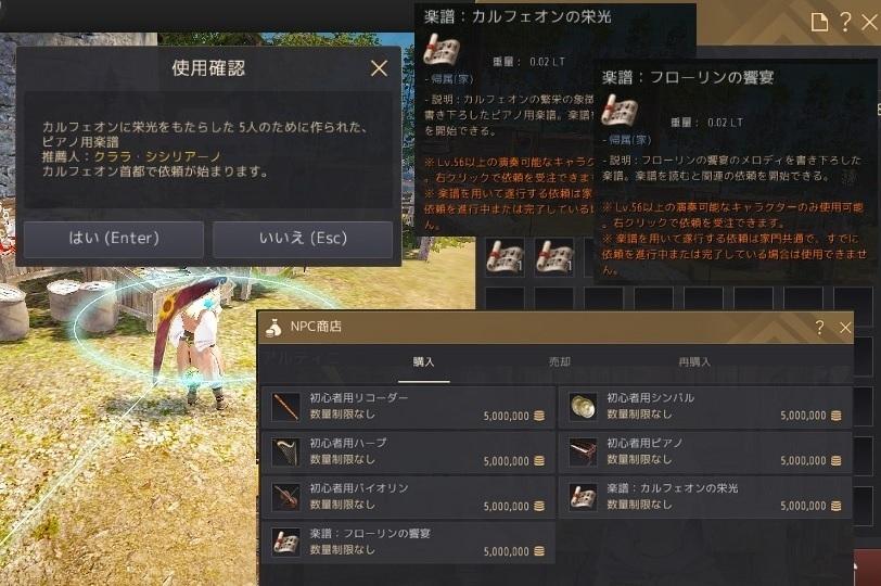 シャイの演奏音楽日誌第一篇 カルフェオンの栄光編02