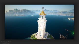 ルイバノ島に灯台なんかありましたっけ(イリヤ島にもあるらしい)【黒い砂漠Part3248】