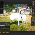 調教職人LV7でマノス馬鞭IVを使った8世代白馬の育成結果【黒い砂漠Part3244】