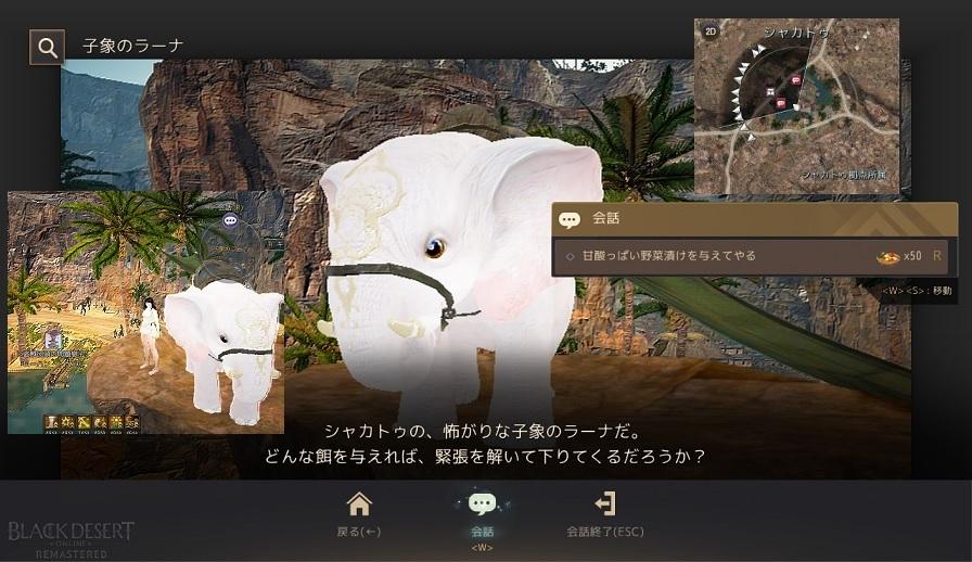シャカトゥの絵の白い小象を完成させて家門バッグ受け取ってきた04