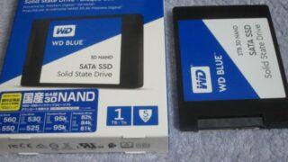 WD Blueな1TBの内臓用SSDを購入 / PC内部への埃侵入&発熱対策とか