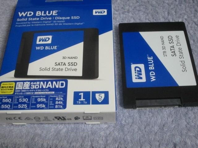 WD BlueなSSDを購入しました00