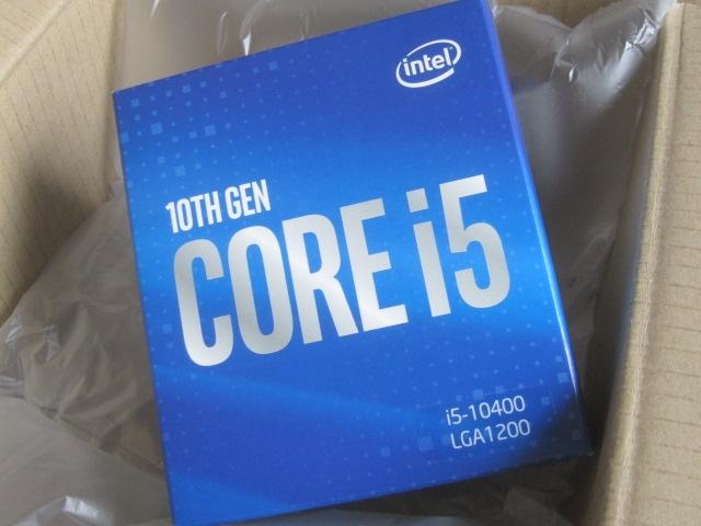 i5 10400で2度目の自作PC02
