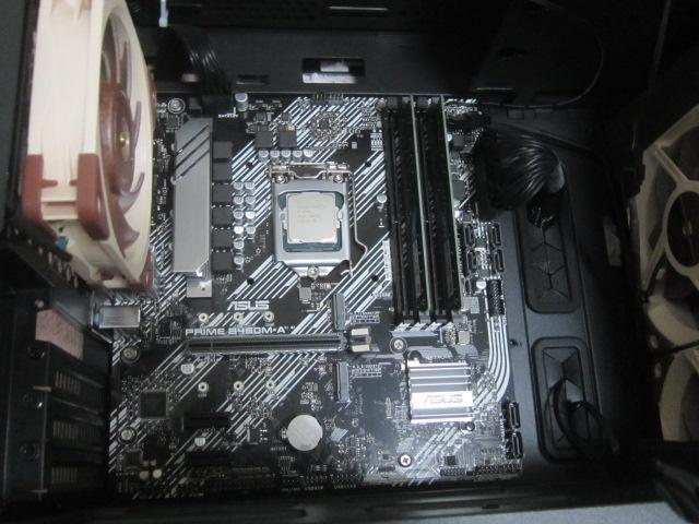 i5 10400で2度目の自作PC04